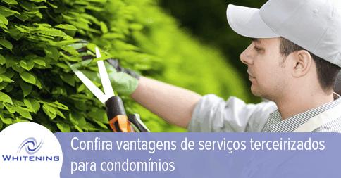 Serviços terceirizados para condomínios