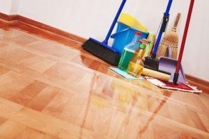 como economizar tempo na hora da limpeza
