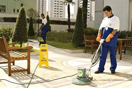 Limpeza de piso
