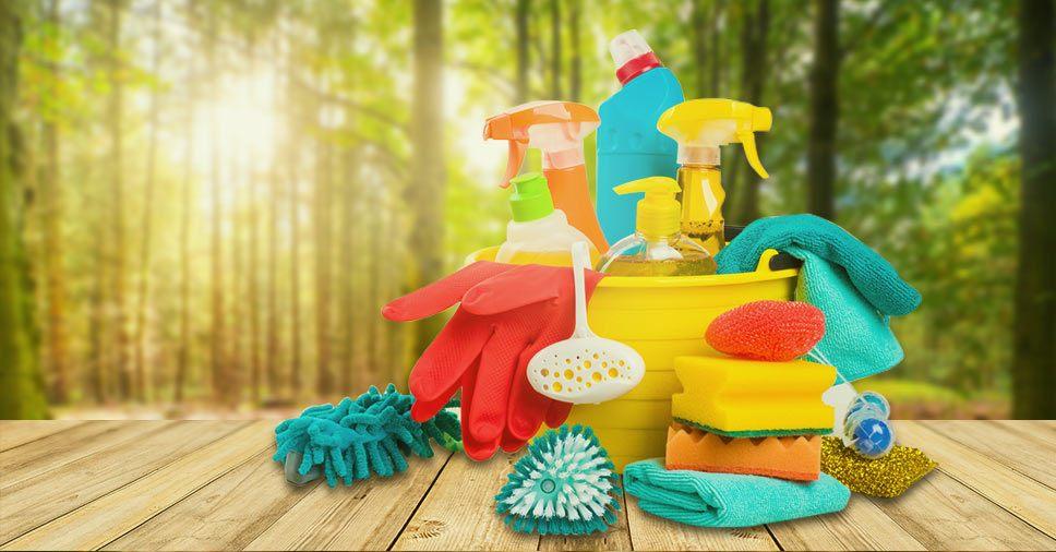 Receitas caseiras de produtos ecológicos para limpeza